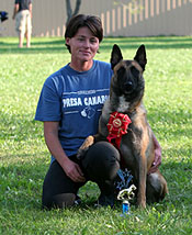 Irina Shimko, owner of Red Star Kennel